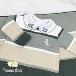 Saída De Maternidade Cavalinho Verde