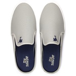 Kit Babuche Slip On Mule Polo Joy Masculino Casual Conforto C/ Cinto - Cinza