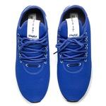 Tênis Masculino Runner Sport Polo Joy Em Elastano Azul