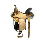Sela de Couro Tambor - 19 Forma Protec Horse