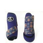 Boleteira Traseira Boots Horse - Roxo / velcro estampa 10