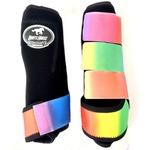 Boleteira Traseira Boots Horse - Preto / velcro estampa 22