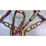 Conjunto Cabecada e Peiteira - Master Saddles 21