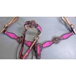 Conjunto Cabecada e Peiteira - Master Saddles 13