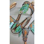 Conjunto Cabecada e Peiteira - Master Saddles 16