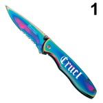 Canivete Cinch Furtacor - Serrilhado