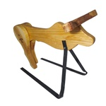 Cavalete para Treino Boots Horse - Boi de madeira - Grande