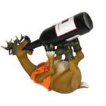 Porta Vinho Resina Alce