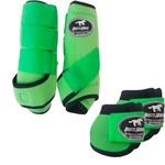 Kit Simples Color Boots Horse Cloche e Boleteira - Verde Limao (890)