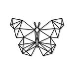Escultura de Parede Borboleta Geométrica