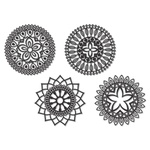 Kit Esculturas de Parede Mandalas