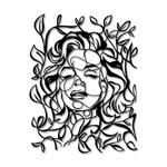 Escultura de Parede Marilyn Monroe