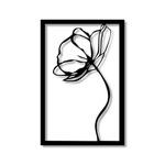 Escultura de Parede Rosa