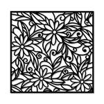 Escultura de Parede Mosaico Flores