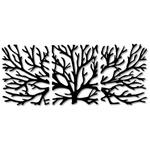 Kit Esculturas de Parede Árvores