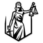 Escultura de Parede Profissões Direito