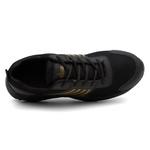 Tênis Masculino Running Caminhada/Academia + Relógio - Dourado - Lorenzzo Lopez
