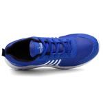 Kit 2 Pares Tênis Masculino Running Caminhada/Academia Branco/Azul- Lorenzzo Lopez