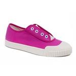 Tênis Feminino SMASH Sneaker Canva - Rosa/Branco - Lorenzzo Lopez