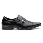 Sapato Social Masculino Em Couro Preto - Lorenzzo Lopez