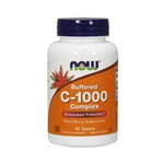 Vitamina C Buffered - C-1000 - time release - Now Foods - 180 comprimidos