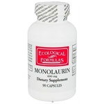 Monolaurina, Ecological Formulas, Cardiovascular Research Ltd., 600 mg, 90 Capsules
