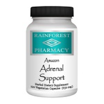 Suporte Adrenal Amazônico - Rainforest Pharmacy - 650 mg - 120 cápsulas