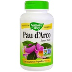 Pau d`Arco - Nature`s Way - 545 mg - 180 Veggie Caps