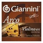 Encordoamento Para Violino Giannini