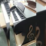 Orgão Eletrônico Acordes Classic 49 teclas marrom ou preto fosco