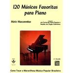 Método Para Piano 120 Músicas Favoritas Mário Mascarenhas