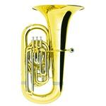 Tuba Sinfônica 4/4 3+1 Pistos Laqueada Hoyden