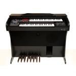 Órgão Eletrônico Harmonia HS-75 Preto Fosco/ Marrom