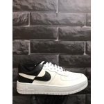 Nike Air Force 1 Branco/Preto - Importado