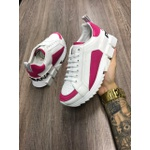 Tenis Dg G6 Super King Branco/rosa Unissex