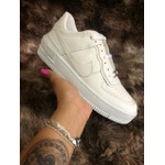 TÊNIS NIKE AIR FORCE 1 SHADOW TODO BRANCO - IMPORTADO