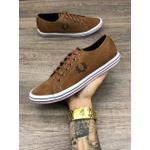 Sapatênis Fred Perry Marrom