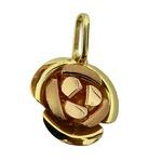 Pingente de Ouro formato de uma Rosa