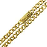 Corrente em Ouro 18k Masculina Grumet 70cm Maçica