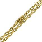 Corrente Masculina Cartier em Ouro 18k 0,750 70cm