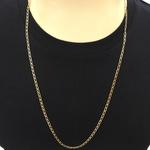 Correntes de Ouro Cartier Batida 18K Masculina 70cm