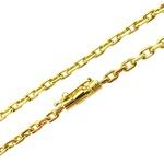 Corrente de Ouro Masculina com 70cm