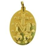 Pingente de Ouro Maria Concebida Sem Pecado