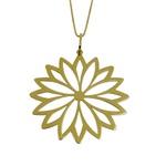 Mandala em Ouro 18k vazado