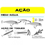 ISCA ARTIFICIAL BRAVA 77 MARINE SPORTS 7,7CM 7,2GR