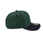 Boné Rhinosize Baseball Aba Curva Verde e Preto