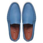 Sapato Casual Tokyo Masculino Couro Flint Blue