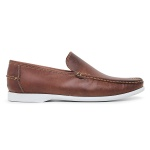 Dockside Casual Masculino Couro Fossil Whisky Riccally