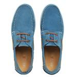 Dockside Masculino Couro Azul Bebe Riccally