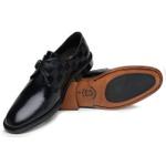 Sapato Social Masculino Monkstrap Damas Preto